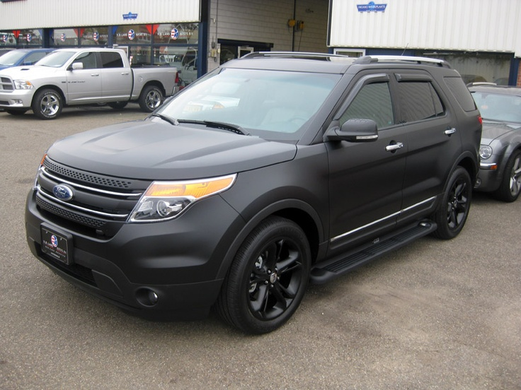timelapse ford explorer 2011 matte black 3m carwrap carwraps car lettering pinterest ford explorer ford and cars