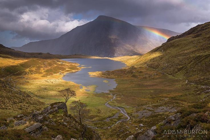 Cwm Idwal in Snowdonia, Wales.    #snowdonia #rainbows #cwmidwal #northwales #wales #ilovewales #leefilters #landscapephotography #picoftheday