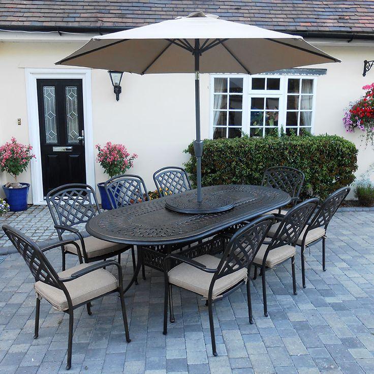 Browse our fantastic  NEW  range of cast aluminium garden furniture View  range   http. Die besten 20  Cast aluminium garden furniture Ideen auf Pinterest