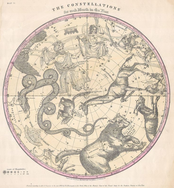 1856_Burritt_-_Huntington_Map_of_the_Stars_^_Constellations_of_the_Northern_Hemisphere_-_Geographicus_-_ConstNorth-burritt-1856.jpg 2500×2707 pixels