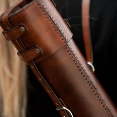 leather blueprint case