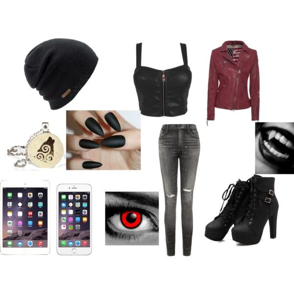 Werewolf and Vampire Outfit by lee-turnup on Polyvore featuring True Religion, Citizens of Humanity and Coal