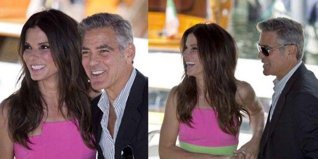 """Venezia 70, applausi per la coppia Clooney e Bullock. Critiche positive per la pellicola """"Gravity"""" ambientata nello spazio"""