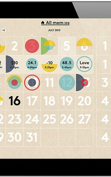 infographic calendar