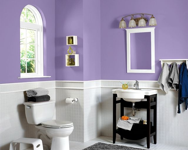 17 best images about bathroom ideas on pinterest a well for Bathroom ideas violet