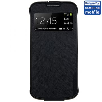 Husa Anymode Cradle Neagra Samsung Galaxy S4 Mini