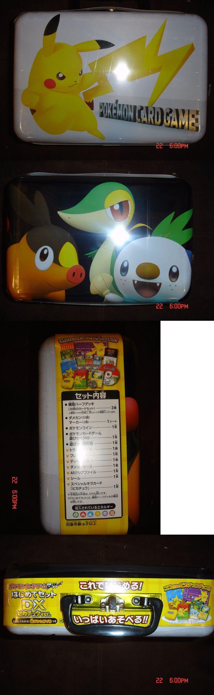 Pok mon Sealed Decks and Kits 183467: Sealed Japanese Pokemon Bw Beginning Set Pikachu Version 90 Cards Rare! 108 Bw-P -> BUY IT NOW ONLY: $79.99 on eBay!