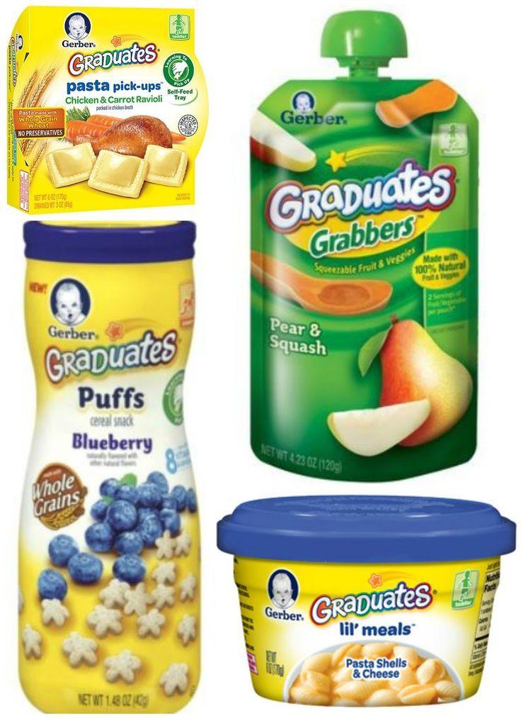 Gerber graduates baby food coupons