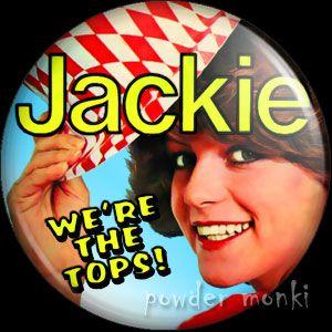 Jackie Magazine 1 - Badge/Magnet ~ www.powdermonki.co.uk ~ £0.99
