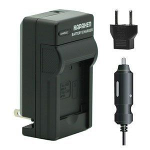 Kapaxen Rapid Battery Charger Kit for Polaroid T730 / T370 / T831 / T833 / T1032 / T1455 Digital Cameras -- Read more  at the image link.