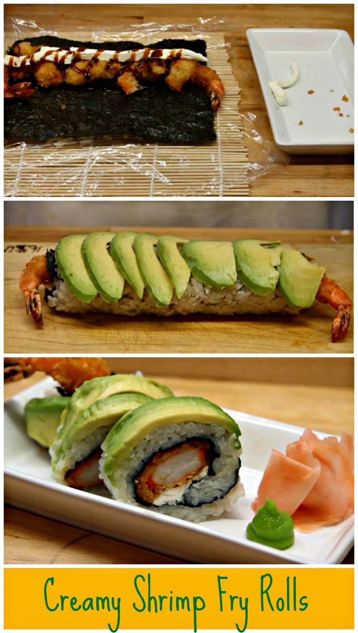 17 Best ideas about Fried Sushi on Pinterest