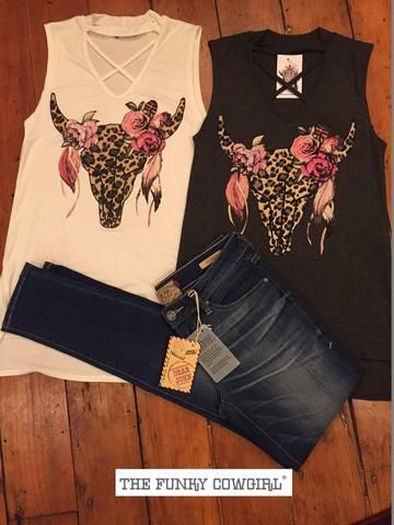 Tops-Funky Fashions – The Funky Cowgirl