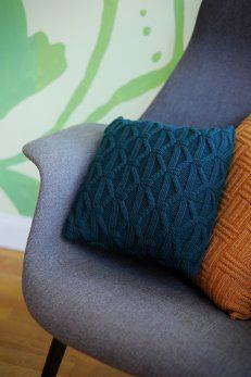 Quince & Co. knitted pillow pattern $4