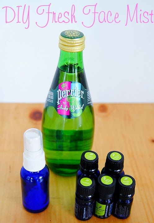DIY FRESH FACE MIST.....I love facial mists or sprays when traveling too
