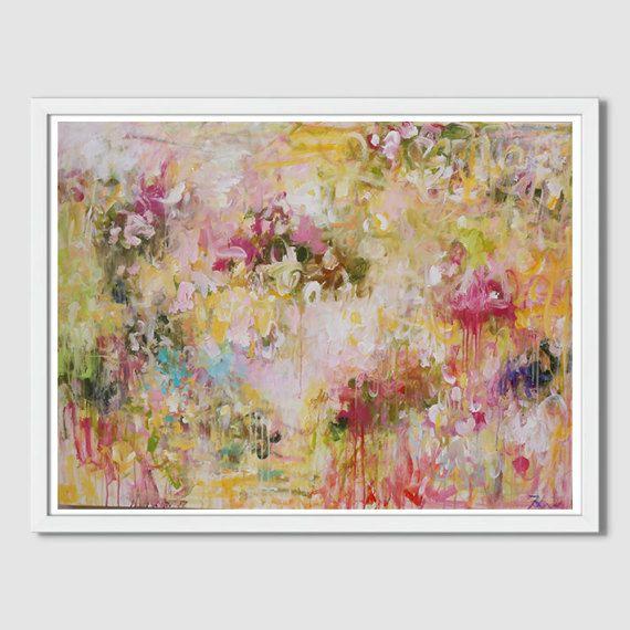 pintura acrílico pintura paisaje flor pintura pintura