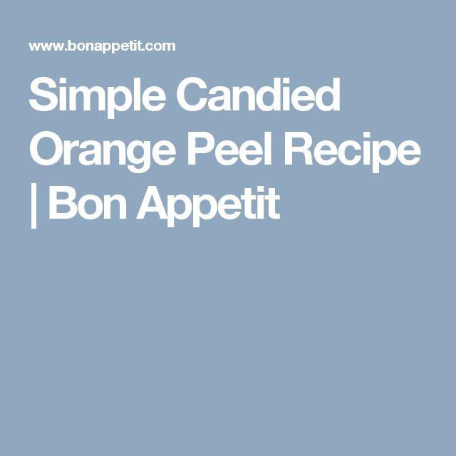Chocolate Orange Peels Dunmore Candy Kitchen: 1000+ Ideas About Candied Orange Peel On Pinterest