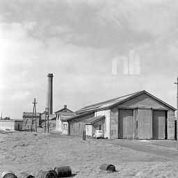 Depot exterior, Sutton, Co. Dublin. by O'Dea, James P. 1910-1992 photographer Published / Created: [April 1959] In collection: O'Dea Photograph Collection