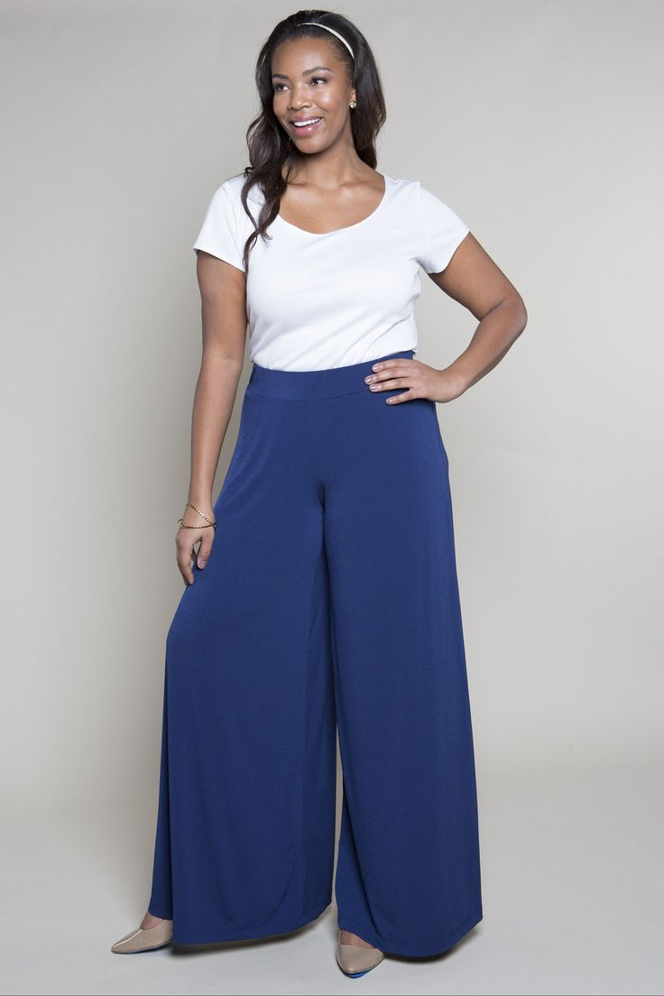 1000 Images About Plus Size Wide Leg Palazzo Pants On