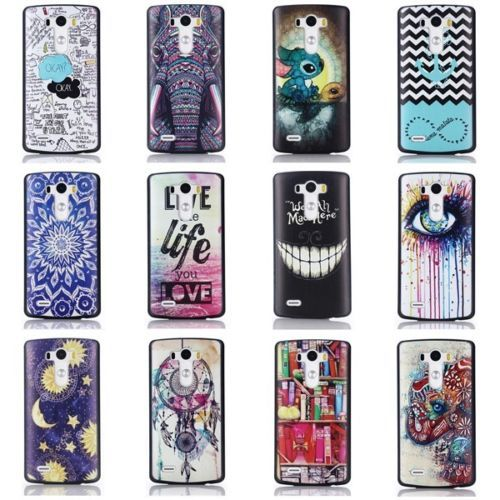 New-Painted-Various-Pattern-Patterned-Hard-Back-Skin-Cover-Case-for-LG-G3-G-3