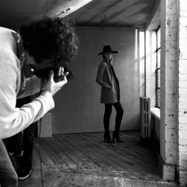 HATS ENTERTAINMENT.  Behind the scenes on our January lookbook shoot.