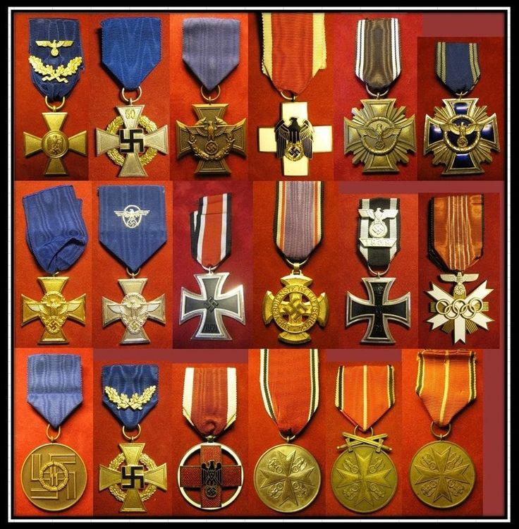 Decorazioni e conferimenti del terzo Reich - WWII - Seconda Guerra Mondiale