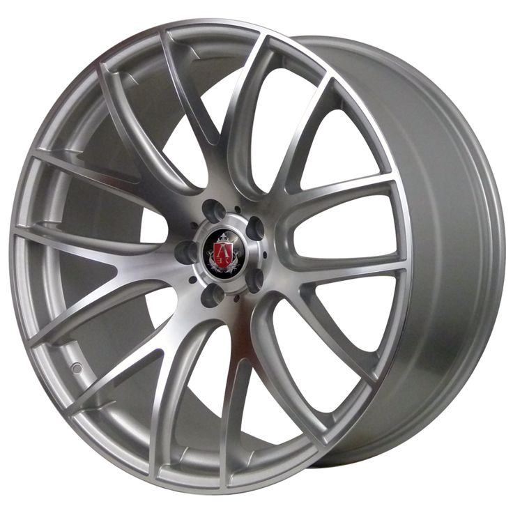 AXE CS LITE SILVER POLISHED FACE alloy wheels with stunning look for 5 studd wheels in SILVER POLISHED FACE finish with 20 inch rim size