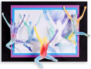 Olympic/Commonwealth Games | Easy Art Craft Activities | Primary School Activities | Art activities for children/students/kids | Teacher Art Craft Lesson Plans | Australian School Teacher Education Resources