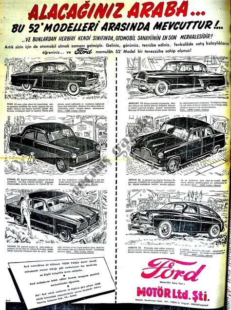 1952 Alacağınız araba..
