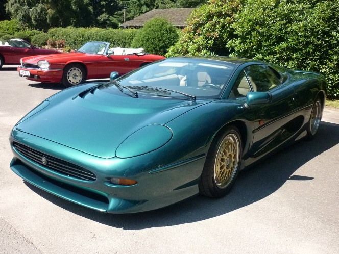 More modern machines were represented alongside the Jaguar greats too. The 1993 XJ220 caused a real stir when it was fired up – the rumble was easily a measure for some of the classic cars.