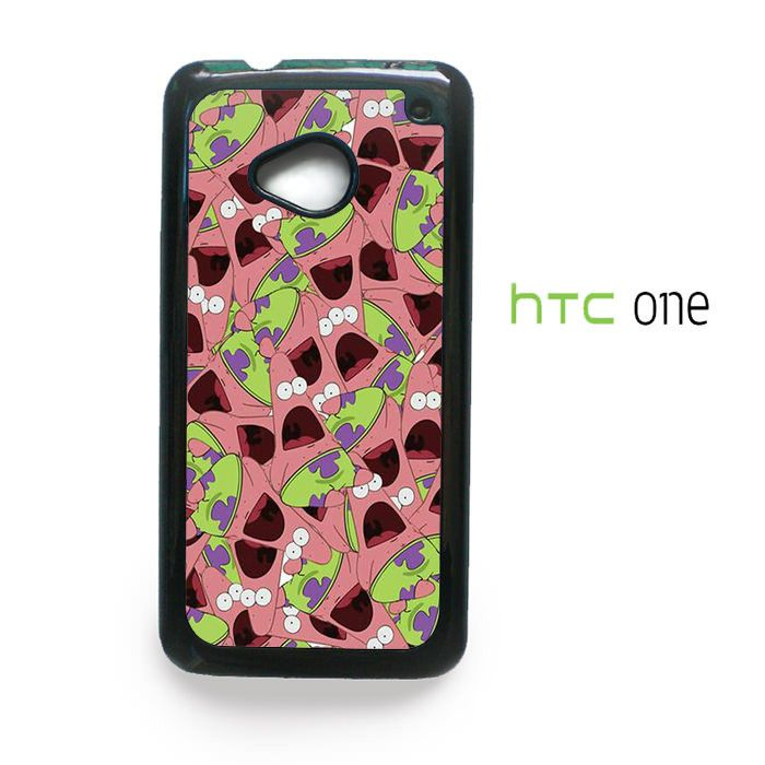 Patric Star art for HTC One M7/M8/M9 Phonecases
