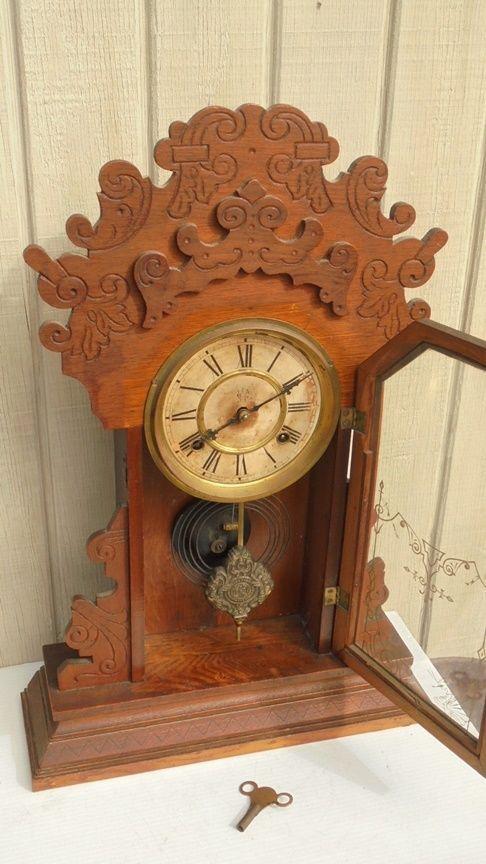 64 Best Images About Antique Clocks On Pinterest
