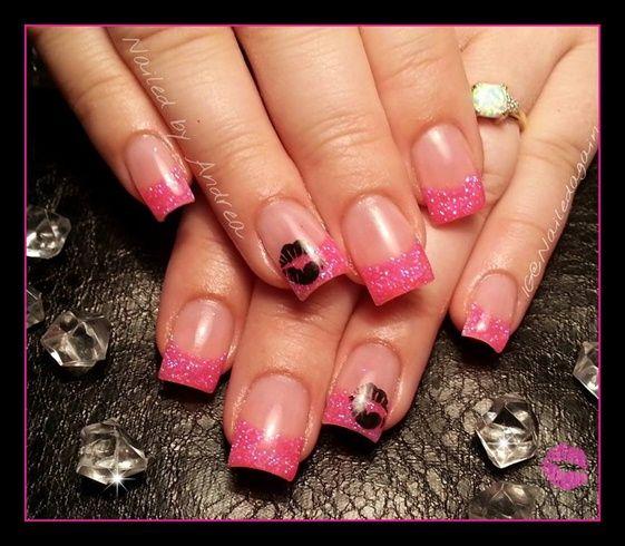 mwah by NailedAgain - Nail Art Gallery nailartgallery.nailsmag.com by Nails Magazine www.nailsmag.com #nailart