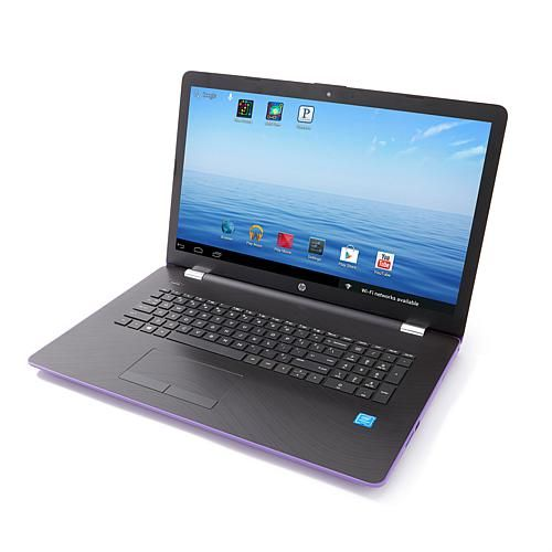 """HP 15.6"""" Touch Intel Pentium Quad-Core 4GB RAM/1TB HDD Laptop with PC Mover, Tech Support and Software & Services - Metallic"""