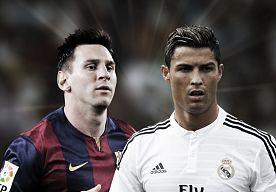 8-Dec-2014 12:45 - MESSI EN CRISTIANO RONALDO LATEN VOETBALWERELD DUIZELEN. Duizelingwekkend. Dat is de enige term die van toepassing is op de cijfers van Lionel Messi en Cristiano Ronaldo. VI zet de stats in perspectief.
