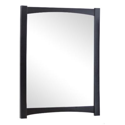 American Imaginations Transitional Wall Mirror Finish: Polished Aluminum
