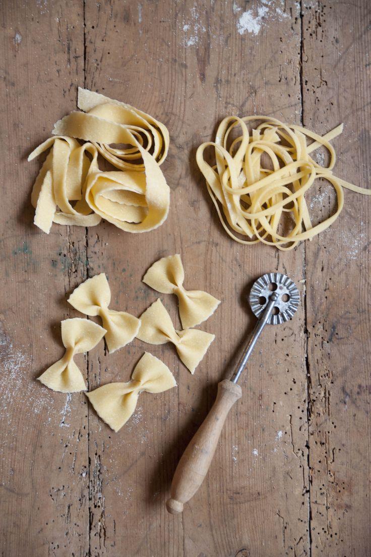 Recept på hemgjord färsk pasta