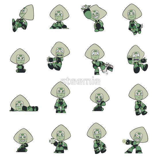 Steven Universe Amigurumi Pattern : Peridot Pattern Unisex T-Shirt Peridots, People and ...