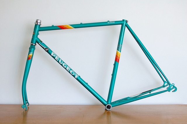 peugeot versailles - my frame, soon to be built up into a bike.