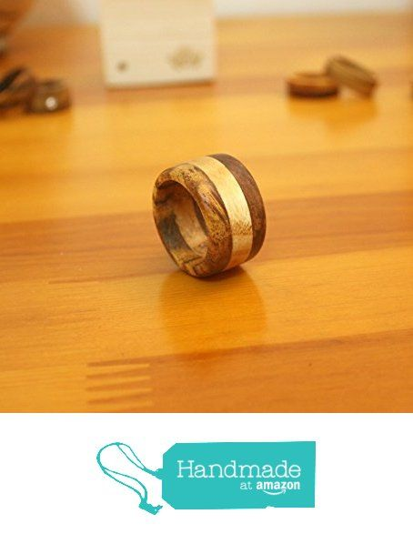 3 color wood ring from Chansthinks https://www.amazon.com/dp/B01M1L95YI/ref=hnd_sw_r_pi_dp_6Jr7xbNXM2CJG #handmadeatamazon