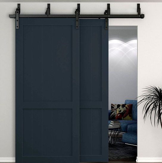 Byp And Double Door Hardware To Re Invigorate Closets Or Other Large Openings