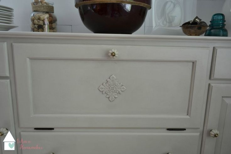 Shabby Chic Buffet Makeover