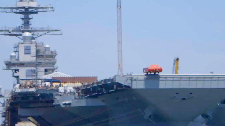 EMALS Electromagnetic Aircraft Catapult Demo – USS Gerald R. Ford