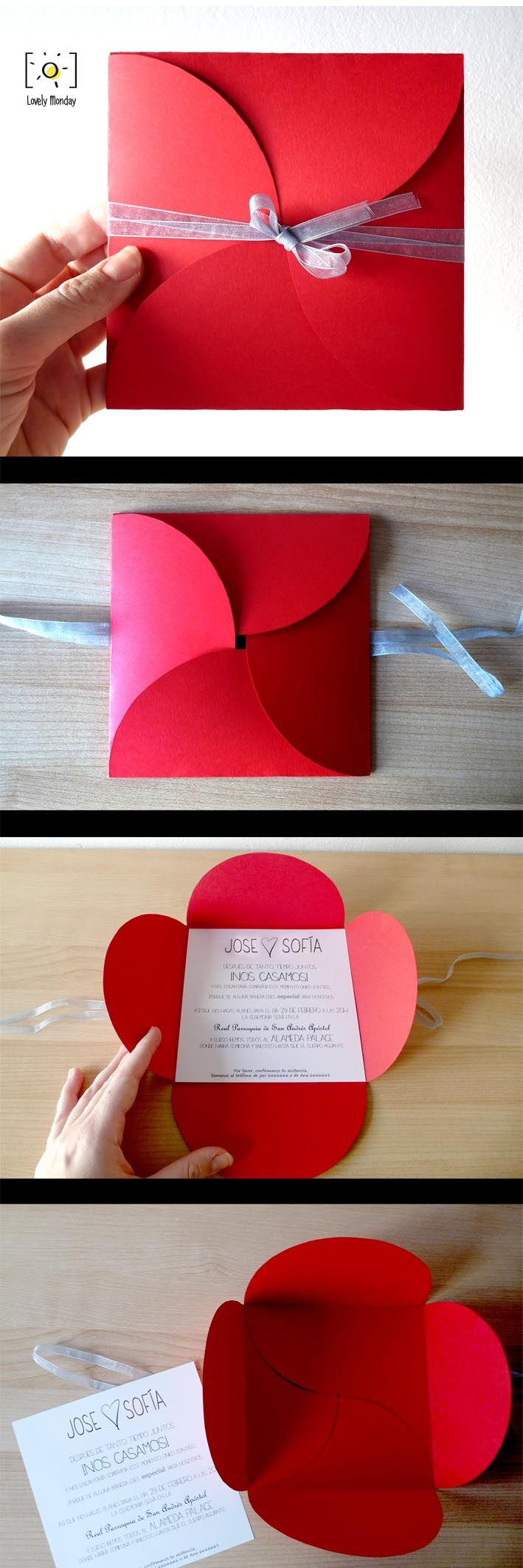 81 best Invitaciones images on Pinterest | Invitations, Weddings and ...