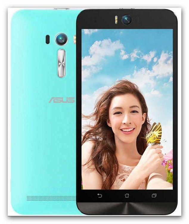Asus Zenfone Selfie Smartphone von vorne und hinten