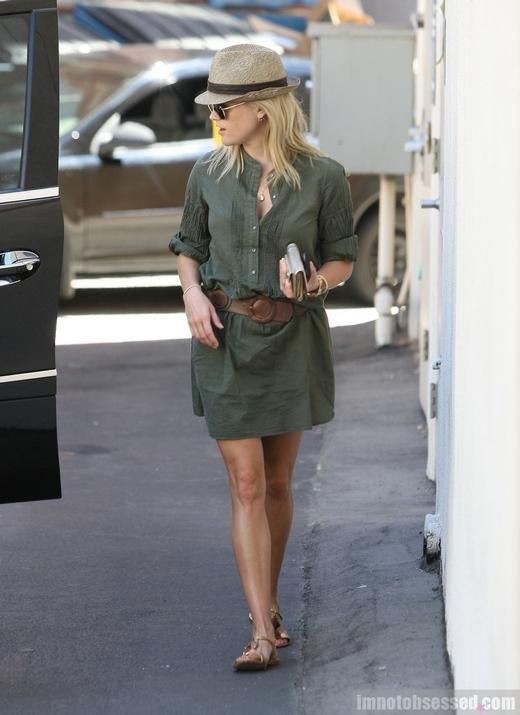 Love the army green- Reese - simple chic