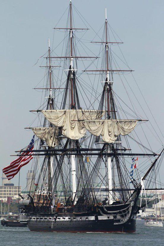 218 años de la vieja constitución de USS Barco viejo de Ironsides