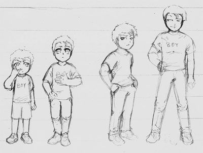 How to draw Children tutorial!