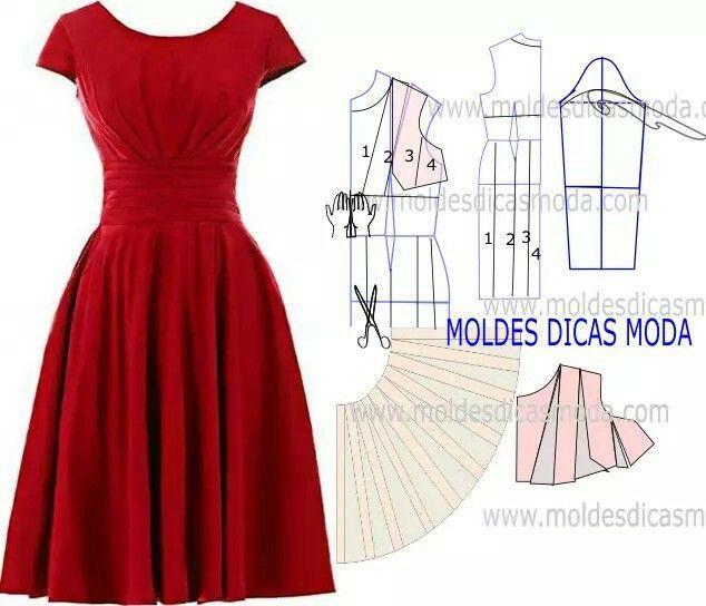 http://moldesdicasmoda.com/molde-vestido-vermelho-245/