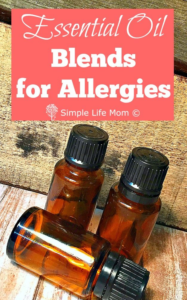 Allergy season is at hand so arm yourself with these 4 essential oil blends for allergies and get some natural allergy relief for diffusers or roller bottle