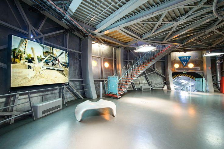 Atomium - Brussel / Room Waterkeyn_level1 #atomium #mice #rent #brussels